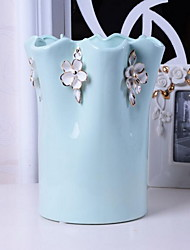 Continental Handmade Ceramic Vase Kaleidoscope Large Simple Home Decorations Ornaments