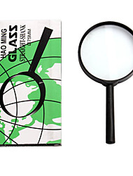 5X 75mm Diameter Lens Handle Straight Shank Reading Magnifier Magnifying Glass