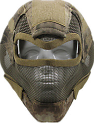 Yellow Color Other Material Protection Accessories Outdoor War Games A-TACS Protection Mask