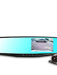 Double Lens Mirror Mirror Rear View Mirror Driving Recorder Dual Lens HD Wide-Angle Driving Recorder Three In One