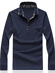 Men's Casual Long Sleeved Shirt POLO