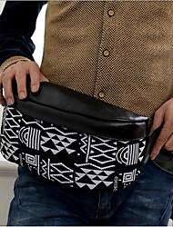 Unisex PU Casual Waist Bag