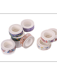 1set Colorful Masking tape