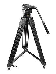 vt-2500 câmera de fotografia profissional tripé de câmera tripé amortecimento hidráulico terno cabeça