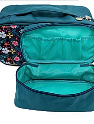 artigos de viagem saco da cor bra multifuncional saco de cueca cosméticos saco de lavagem de acabamento impermeável