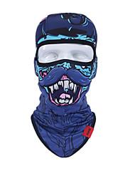 blaue Farbe, ein anderes Material, Schutz Zubehör Maske Reiten