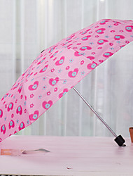 Short Handle Umbrella Seventy Percent Off Creative Umbrella Portable Folding Umbrella