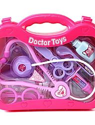 caixa de ferramenta de simulação medicina infantil quando o brinquedo médico