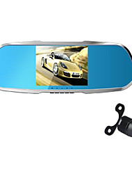 HD 1080P Rear View Mirror Driving Recorder Before And After Recording A Single Double Lens Driving Recorder