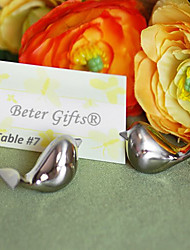 Wedding décor Table Place card holders / Rustic / Silver / Floral / Dove / Bridesmaids / Bachelorette