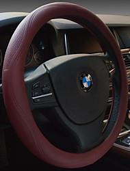Microfibra couro cobertura de volante não-tóxico, inodoro suor se sentir confortável deslizamento respirável