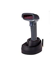 беспроводной лазерный сканер штрих-кода сканирования пистолет (сканирования скорости: 3mil, интерфейс: USB-интерфейс, с пьедесталом)