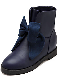 Women's Shoes Fleece Spring / Fall / Winter Fashion Boots Boots Wedding / Athletic / Dress / Casual Wedge Heel
