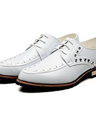 Westland® Men's Oxfords/Fashion style/Rivet/New Baroque/Pointed Toe/Leather/Gentle dress/Party & Evening/Casual