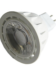 5W GU5.3(MR16) LED Spotlight MR16 1 COB 450 lm Warm White / Cool White Decorative DC 12 V 1 pcs