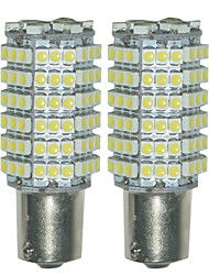 2pcs 1156 3528 120SMD LED Car Turn Tail Reverse Backup Parking Light Led Light lamp(DC12V)