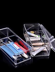 акриловый косметический организатор макияж ящик для хранения пластиковый корпус акриловый organizador пировки