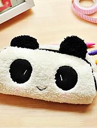 Three-dimensional Cute Panda Pen Bag Creative Plush Pencil Case