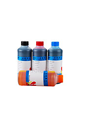 Dye Ink Printer  EPN/H/CAN/BRO 500ML A Pack Of Six, Each Of Different Colors, Namely: Black, Blue , Red , Yellow , Lig