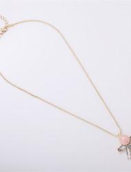 Ожерелье Ожерелья с подвесками Бижутерия Повседневные Мода / Стиль Сплав Золотой 1шт Подарок
