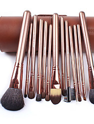 Colour Makeup Makeup Tools 13Pcs Barrel Packaging Makeup Brush Sets Wool Horse Hair