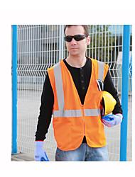 reflektierende Sicherheitswesten Westen Sanitär reflektierende Westen Reit fluoreszierende Kleidung drucken