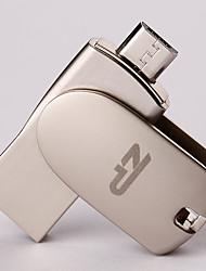 ZP C05 64GB USB 2.0 Resistente à Água / Resistente ao Choque / Rotativo / Suporte de OTG (Micro USB)