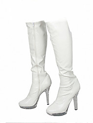 Women's Boots Heels/Platform/Fashion Boots Patent Leather Wedding/Party & Evening/Dress Stiletto Heel/High Boots/