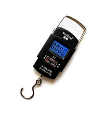 Portable Electronic Scale(Maximum Scale: 50KG,Chinese,Blue screen)