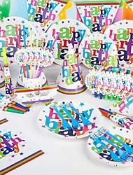 Открытка-карман Вечеринка Приглашения 85 шт / Установить Наборы приглашений Номера для персонализированных