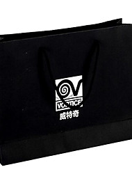 White Paper Bag Manufacturers Custom-Made Black Card Card Mobile Gift Bag Packaging Paper Bag A Pack Of Five Print