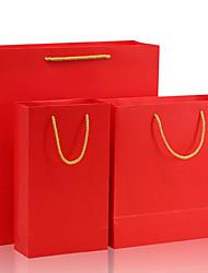 personnalisé sac en cuir cartes blanches cadeau d'impression sac d'emballage des vêtements noirs portable un pack de deux