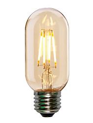 4W E26/E27 Ampoules à Filament LED ST58 4 COB 360LM lm Blanc Chaud Blanc Froid Décorative AC 100-240 V 1 pièce