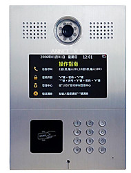 7 Inch Digital TCP / IP Support Buildings Doorbell Door Phone Intercom Advertising Intelligent Home Network
