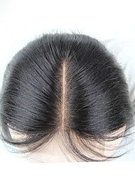 "1 Pc/Lot 8""-20"" Swiss  Lace Closure Bleached Knots Straight Indian Hair 4""x4"" Size Lace Closure"