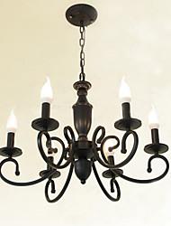 3W-30W Lustres ,  Contemprâneo / Tradicional/Clássico Outros Característica for Estilo Mini / Estilo Candle MetalSala de Estar / Quarto /