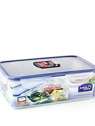 LOCK&LOCK 1/set Kitchen Kitchen Polypropylene Lunch Box 205*134*69 HPL817C