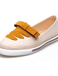 Women's Fashion Loafers & Slip-Ons Casual/Travel/Dress Microfibre Bowknot Shoes