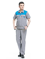 The Hotel Porter Service Auto Repair Service Protective Clothing Overalls Summer Suit (Sale Red, 180)