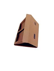 embalagem de cor marrom&caixa de filme de vidro telefone transporte 19.8 * 12 * 2,5 centímetros de um pacote de nove
