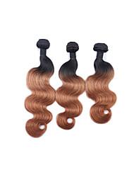 3 Stück Große Wellen Menschliches Haar Webarten Peruanisches Haar Menschliches Haar Webarten Große Wellen