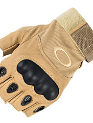 Half Finger Nylon Cut-Resistant Protective Gloves Motorcycle Gloves Cycling Movement