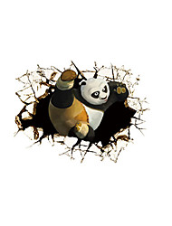 3D Wall Stickers Plane Wall Stickers Panda Wall Stickers Decorative Wall Stickers Animals Stickers