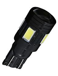 10x ксенон белый лицензия T10 пластины сторона клина 5630 6-SMD светодиодные лампы радиатор 168
