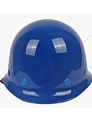 ABS anti-smashing breathable  labor protective heat-resistant glass, steel helmets knob white yellow red blue