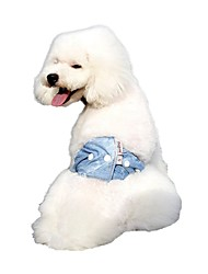 Cowboy Style Cotton Physiological Pants for Pets Dogs