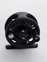 Stainless Steel  Fishing Fly Reels 1 Ball Bearings  Unchangable Handle-FS50