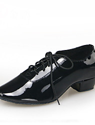 Non Customizable Men's Dance Shoes Leatherette /  Patent Leather Dance Sneakers / ModernBoots /