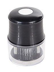 56 Pin Round Meat Tenderizer,ABS+Stainless Steel 5×5.1×19.4 CM(2.0×2.0×7.7 INCH)