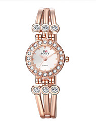 Xu™ Women's Fashion Diamond Bracelet Quartz Watch